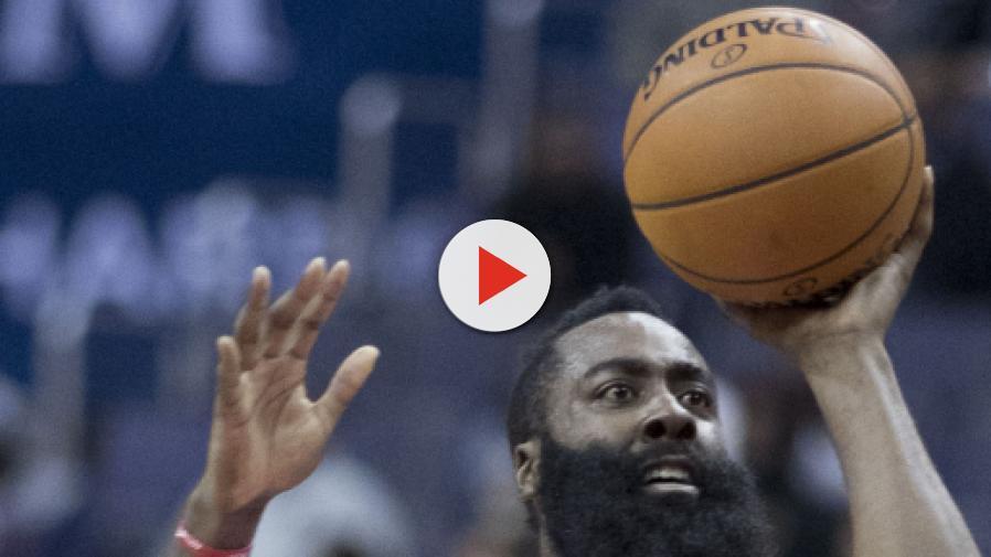 5a30165715eb James Harden s historic 30-point game streak ends as Houston Rockets defeat  Atlanta Hawks