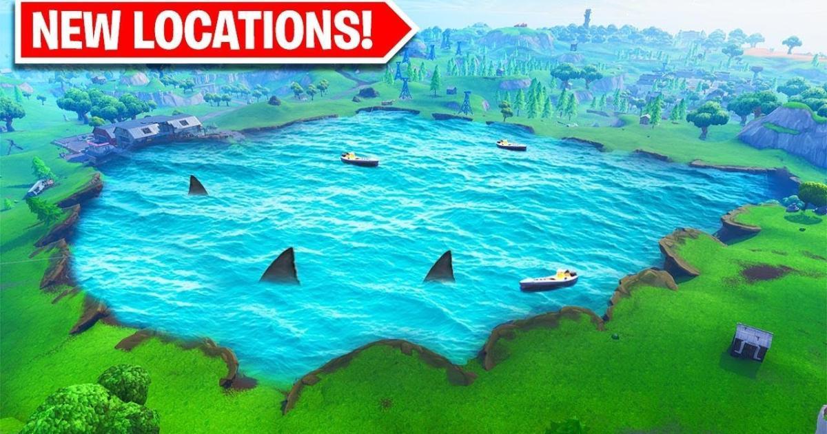 New Fortnite Season 8 Location Sharky Shrubs Has Been Leaked
