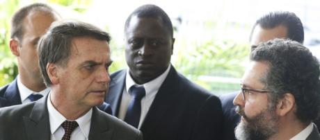 Bolsonaro pode receber visita de Guaidó, presidente interino da Venezuela - (Foto: Valter Campanato/Agência Brasil)
