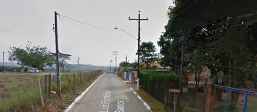 Caso aconteceu nesta rua em Capela do Alto (Crédito: Google Street).