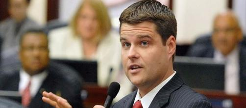 Republican representative Matt Gaetz from Florida threatens Cohen - Image credit - House photo by Meredith Geddings | Wikimedia