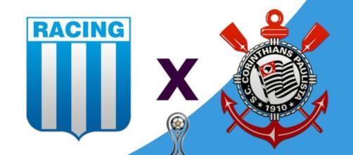 Racing x Corinthians ao vivo (Reprodução RedeTV!)