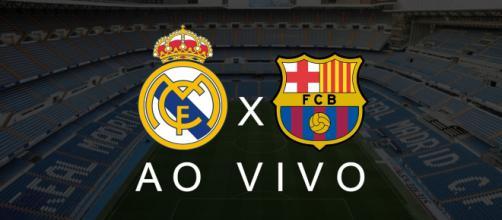 Real Madrid x Barcelona ao vivo (Reprodução Youtube Jogos ao Vivo)