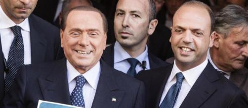 Silvio Berlusconi paragona Matteo Salvini ad Angelino Alfano