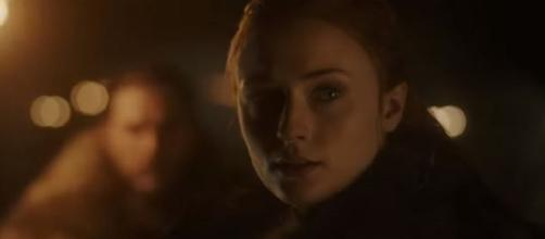 Sophie Turner plays Sansa Stark character in the show. [Photo via GameofThrones/ YouTube]