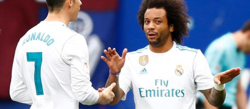 Marcelo e Cristiano Ronaldo insieme ai tempi del Real Madrid