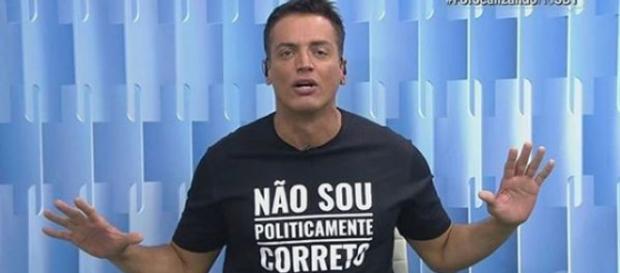 Leo Dias desabafa nas redes sociais. (Foto: Reprodução/SBT)