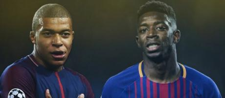 Mercato : le PSG aimerait réunir Mbappé et Dembélé