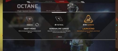 Apex Legends: An upcoming character with abilities like Swift Mend may have leaked [Image source: childz_pl4y via The Gaming Merchant/YouTube]