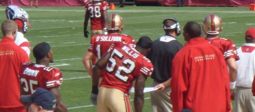 Patrick Willis was named the Defensive Rookie of the Year in 2007. [Image Source: Flickr   fred10_2000]