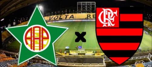 Portuguesa-RJ x Flamengo ao vivo. (Foto: Reprodução)