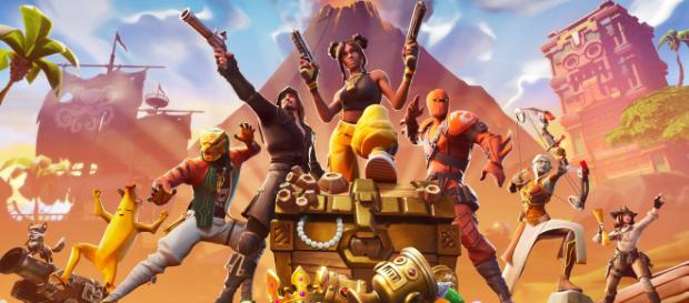 'Fortnite' is getting another update. - [Epic Games / Fortnite screencap]