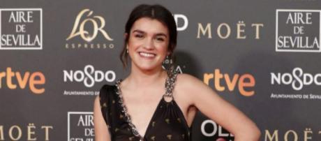 Amaia Romero en el photocall de los Premios Goya 2019