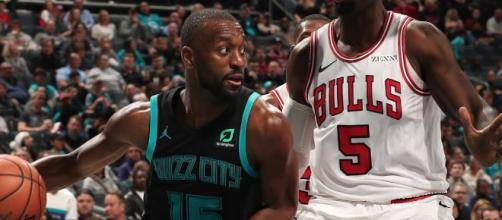 Kemba Walker led the Hornets to a home win over the Bulls on Saturday (Feb. 2). - [NBA / YouTube screencap]