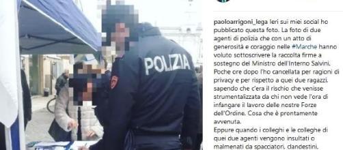 Poliziotti pro-Salvini, scoppia la polemica: la questura di Ascoli apre inchiesta
