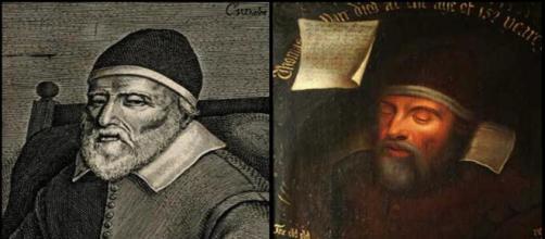 Retratos de Thomas 'Old' Parr.