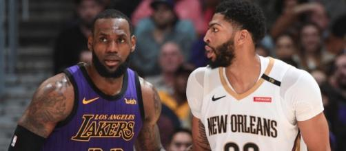 The Pelicans may make their counteroffer to the Lakers in an Anthony Davis trade soon. [Image via ESPN/YouTube screencap]