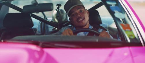 Hip-hop star Chance the Rapper teamed up with Backstreet Boys for a Super Bowl ad. - [Doritos / YouTube screencap]