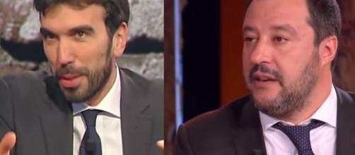 Martina-Salvini, battibecco a distanza