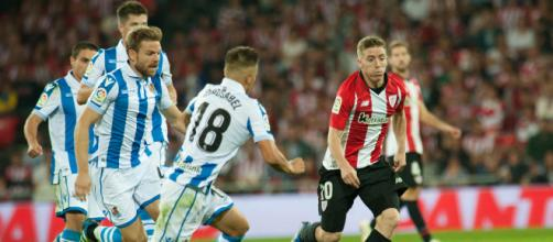 Partido entre Real Sociedad y Athletic Club