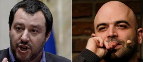 Roberto Saviano lancia accuse pesantissime contro Matteo Salvini