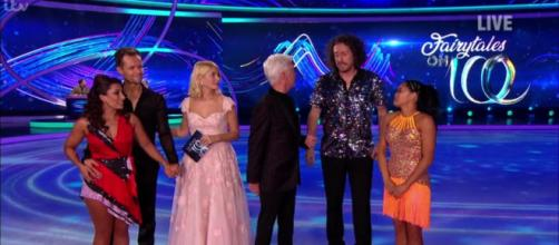 Saira and Mark face the Skate Off a second time as they go head to head with Ryan and Brandee (Image credit: Dancing On Ice/ITVhub)