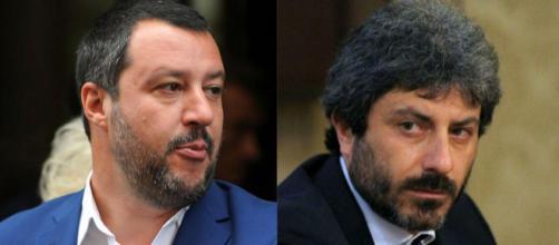 Scontro totale tra Matteo Salvini e Roberto Fico