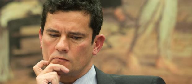 Ministro Sérgio Moro promete o endurecimento contra a corrupção e contra o crime organizado (Reprodução)