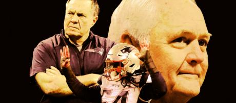 Belichick and Phillips prominent in Super Bowl LIII outcome. [Image source: Blasting News]