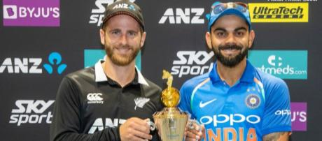 India vs NZ live streaming on Sky Sports NZ (Image via Sky Sports screencap)