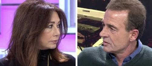Ana Rosa Quinta se enfada con Alessandro Lequio
