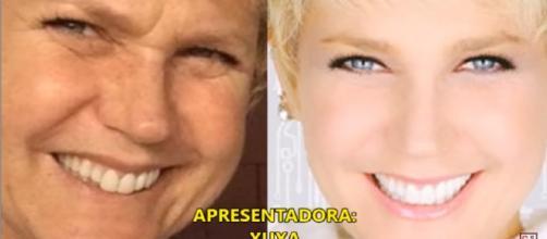 Famosas apresentadoras sem filtro e sem maquiagem. (Foto/Reprodução via Virgulistas).