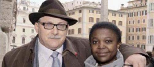 Il marito della Kyenge Domenico Grispino si candida con la Lega