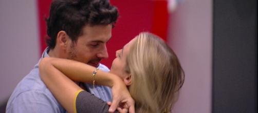 O casal Isabella e Maycon. (reprodução/TV Globo)