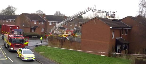 A deadly house fire in Stafford took the lives of 4 children on Tuesday morning with one child and two adults alive. [Image Caters Clips/YouTube]