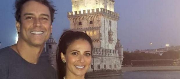 Marcello Antony e esposa (Reprodução Instagram)