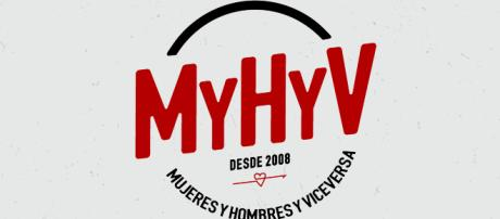 Logo de Mujeres y hombres y viceversa
