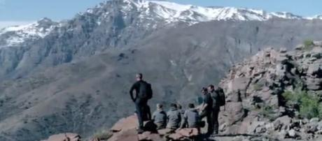 """The Recruits enjoy a few moment face before facing """"The Devils Throat"""" (Image credit: SAS: Who Dares Wins/ 4oD)"""