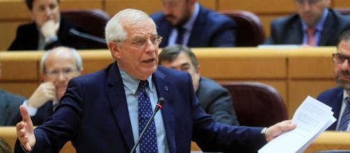 El Ministro de Exteriores, Josep Borrell (RTVE)