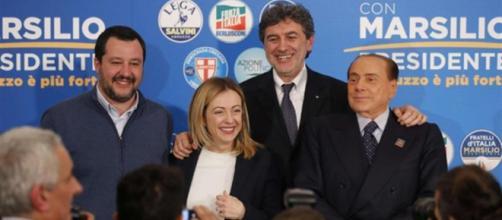 Elezioni in Abruzzo. Vince il centrodestra: Marsilio governatore. Lega primo partito (foto Avvenire)