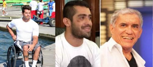 Fernando Fernandes, Yuri Fernandes e Noberto dos Santos. (Foto/Reprodução)