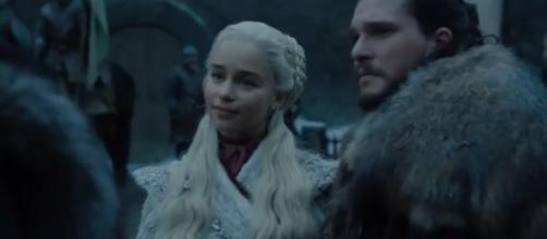 HBO reveals first official photos from Game of Thrones season 8 [image source: Game of Thrones - YouTube]