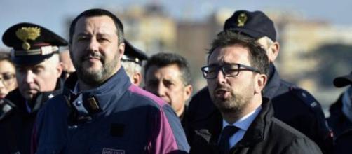 I due ministri Salvini e Bonafede