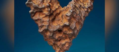 Il meteorite di San Valentino battuto all'asta