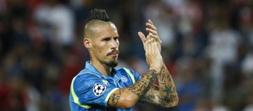 Napoli, Hamsik verso il record ma al Fantacalcio non è più un top ... - fantamagazine.com