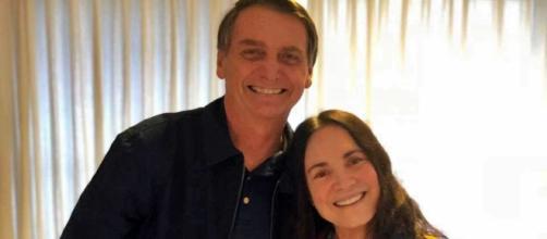 Nas redes sociais, atriz agradeceu mensagem do presidente. (Foto Reprodução / Instagram)