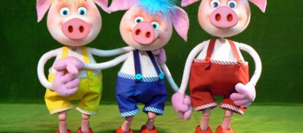 """Les Trois Petits Cochons"""" : Theatre marionnettes a Dijon - bienpublic.com"""