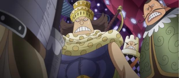In this story, Orochi battles Samurai and Luffy escapes from prison. [Image credit:Sanji G66/YouTube]