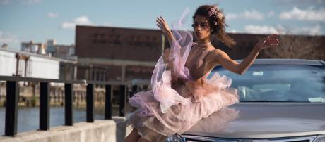 Dance artist Celine (née De La Croix) is inspired by Brooklyn. / Photos via Chelsea Robin Lee and Michael Popp, used with permission.
