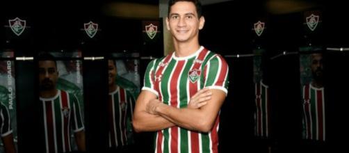 Chegada de Ganso mudou drasticamente o clima no Fluminense (Reprodução/Twitter/@FluminenseFC)